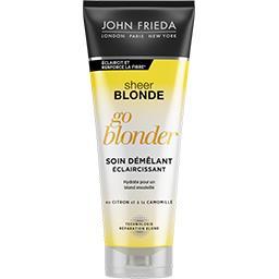 John Frieda John Frieda Sheer Blonde - Soin démêlant Go Blonder le tube de 250 ml