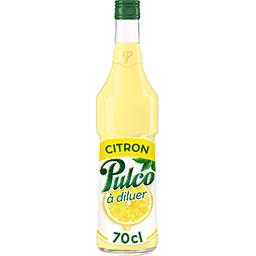 Pulco Pulco Spécialité de citron à diluer pour boissons la bouteille de 70 cl