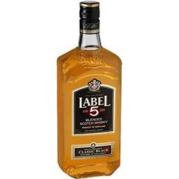 Label 5 Label 5 Blended Scotch Whisky Classic Black la bouteille de 70 cl