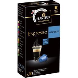 Café capsules Espresso Decaffeinato