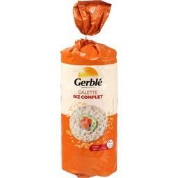 Galette riz complet