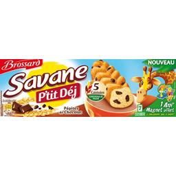 Savane - Gâteaux P'tit Dej pépites de chocolat