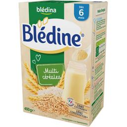 Blédine - Céréales instantanées multicéréales, dès 6...
