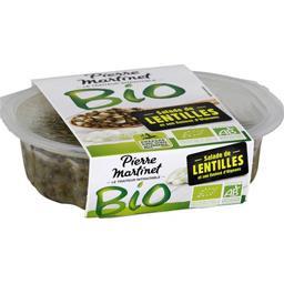 Pierre Martinet Pierre Martinet Salade de lentilles et son émincé d'oignons BIO la barquette de 200 g