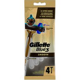 Gillette Gillette Rasoirs jetables blue 3 le sachet de 4 rasoirs