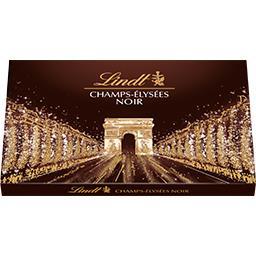 Lindt Champs-Elysées - Assortiment de chocolats Noir la boite de 17 - 184 g