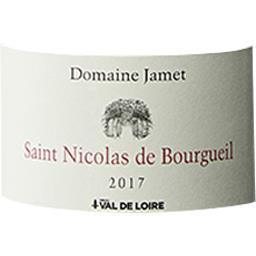 Saint Nicolas de Bourgueil Domaine Jamet vin Rouge 2017