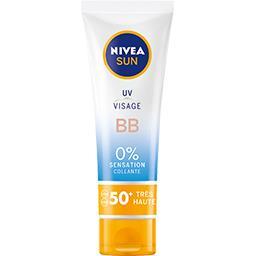 Sun - Crème solaire visage BB FPS 50