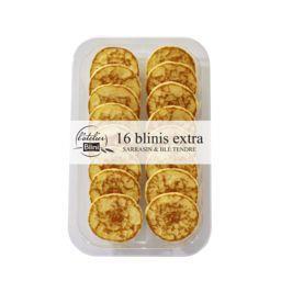 Blini Blini L'Atelier - Blinis extra sarrasin & blé tendre le sachet de 16 - 135 g