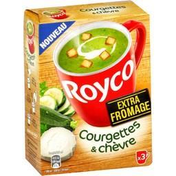 Royco Royco Courgettes & chèvre les 3 sachets de 22,5 g