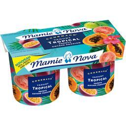Gourmand - Yaourt Tropical papaye goyave passion