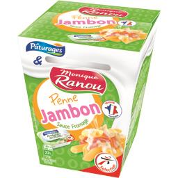 Penne Jambon sauce fromage