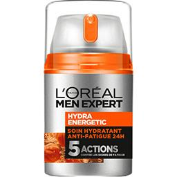L'Oréal Men Expert de L'Oréal Hydra Energetic - Soin hydratant anti-fatigue 24 h le flacon de 50 ml