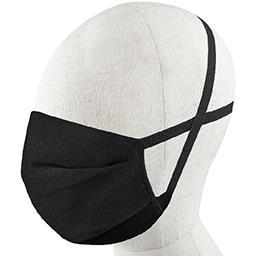 BranDecision BranDecision Masques en tissu noir garanti 5 lavages le lot de 5 masques