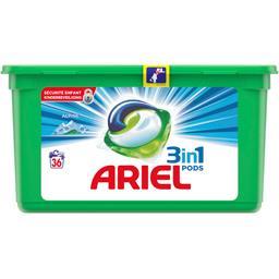 Ariel Ariel Lessive en capsules 3en1 pods alpine La boite de 36capsules