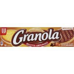 Granola - Biscuits sablés chocolat au lait goût caramel