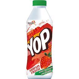 Yoplait Yoplait Yop - Yaourt à boire parfum fraise la bouteille de 825 g
