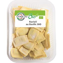 L'Italie du Bio Ravioli au basilic BIO la barquette de 250 g