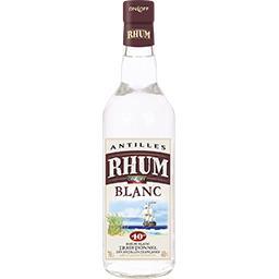 On-Off On Off Rhum blanc traditionnel des Antilles française la bouteille,70cl