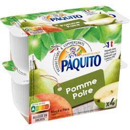 Dessert de fruits pomme poire