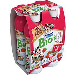 Yaourt à boire fraise BIO