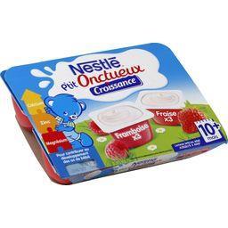 P'tit Onctueux Croissance - Desserts framboise/frais...