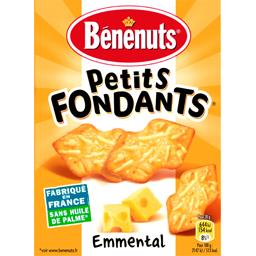 Bénénuts Bénénuts Crackers Petits Fondants emmental la boite de 85 g