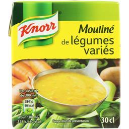 Knorr Knorr Mouliné de légumes variés la brique de 30 cl