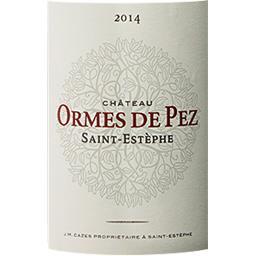 Saint-Estèphe Château Ormes de Pez vin Rouge 2014