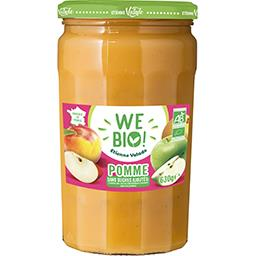 Valade en Corrèze Purée de pommes We BIO le pot de 630 g