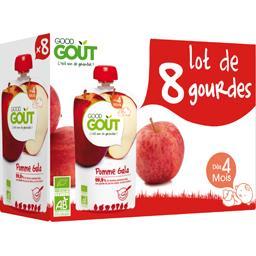 Compote BIO pomme Gala, dès 4 mois