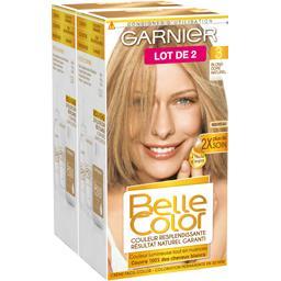 Garnier Garnier Belle Color, blond doré naturel, coloration permanente le lot de 2 boites de 115 ml