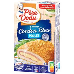 Escalope Cordon Bleu de poulet