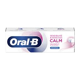 Oral B Oral-B Dentifrice sensibilité & gencives calm original Le tube de 75ml