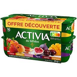 Danone Danone Activia - Lait fermenté aux fruits