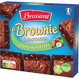 Le Brownie chocolat noisette