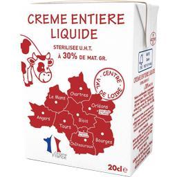 Crème entière liquide