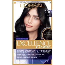 Excellence Crème - Crème colorante brun profond 200