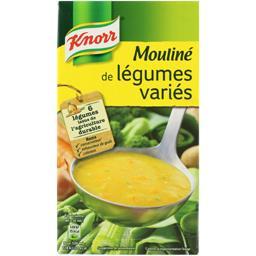 Knorr Knorr Mouliné de légumes variés la brique de 1 l