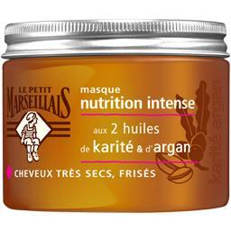 Le Petit Marseillais Masque Nutrition Intense, cheveux très secs frisés