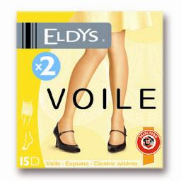 Collants voile gris T1