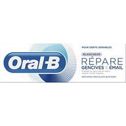 Oral B Oral-B Dentifrice répare gencives & émail blancheur Le tube de 75 ml