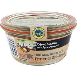 Foie gras de canard entier du Sud-Ouest IGP au Saute...