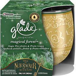 Glade Bougie Magical Forest magie pin ambre fruits rouges