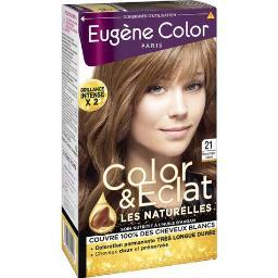 Eugène Color Eugène Color Les Naturelles - Coloration blond clair cuivré 21 la boite de 115 ml