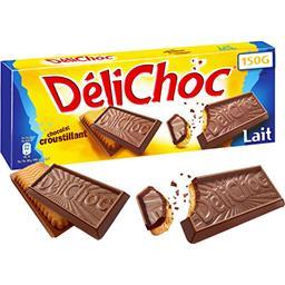 Délichoc - Biscuit croustillant chocolat au lait