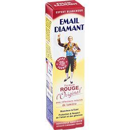 Email Diamant Email Diamant Dentifrice formule Rouge l'Original le tube de 75 ml