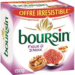 Boursin Fromage figue & 3 noix