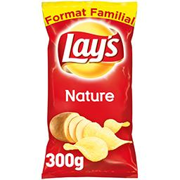 Lay's Lay's Chips nature le sachet de 300 g