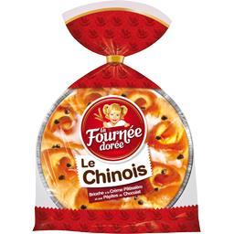 Brioche Le Chinois crème pâtissière et pépites de ch...